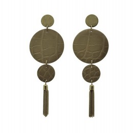 Inspiration Earring Leather O9