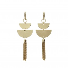 Inspiration Earring Gold Moon O50