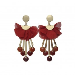 Inspiration Earring Red Dream O79