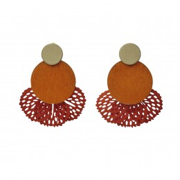 Inspiration Earring Orange Sunset O83