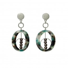 Inspiration Earring Glorious Blue O87