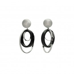 Inspiration Earring Silver Charm O89