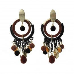 Inspiration Earring Brunette 0104
