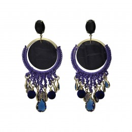 Inspiration Earring Purple Dream 0108