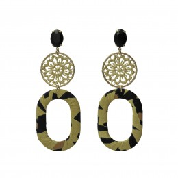Inspiration Earring Soft Yellow O109