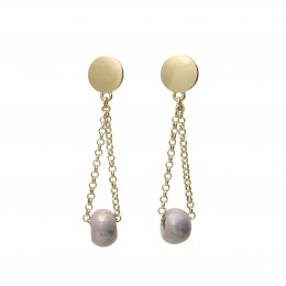 Inspiration Earring Soft Lilac O110