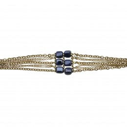Inspiration Bracelet Dark Blue Mist A17