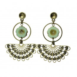 Inspiration Earring Gipsy Green O135