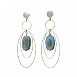 Inspiration Earring Rich Oval O120