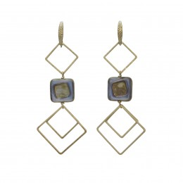 Inspiration Earring Artsy Blue O119