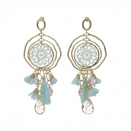 Inspiration Earring Blue Daydream O148