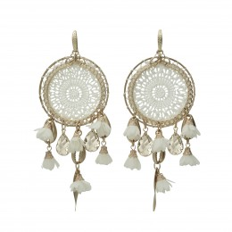 Inspiration Earring White Desire O157