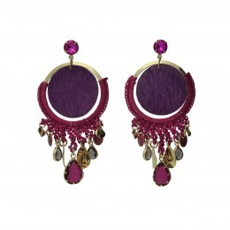 Inspiration Earring Purple Dream O146