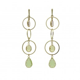 Inspiration Earring Pastel Crystal O165