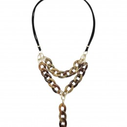 Inspiration Collier Golden Brown H50