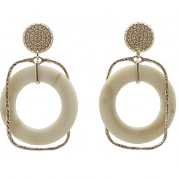 Inspiration Earring Ivory Chic O179