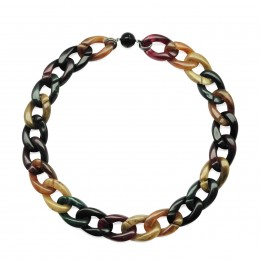 Inspiration Collier Autumn Leaves H54
