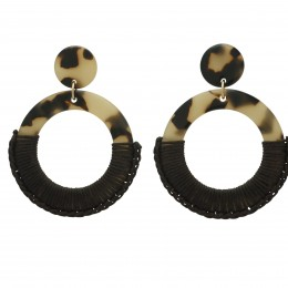 Inspiration Earring Umber O210