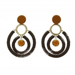 Inspiration Boucle d´oreille Dark Chocolate O204