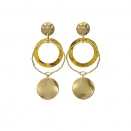 Inspiration Earring Heart of Gold O258