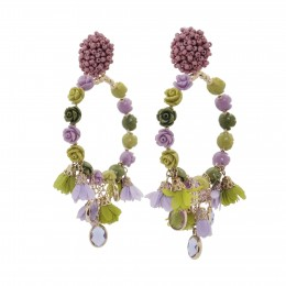 Inspiration Earring Floral Delight O273