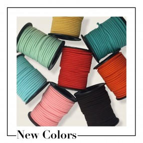 New colors faux suede cord
