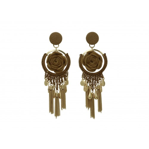 Inspiration Boucle d´oreille Amber O207