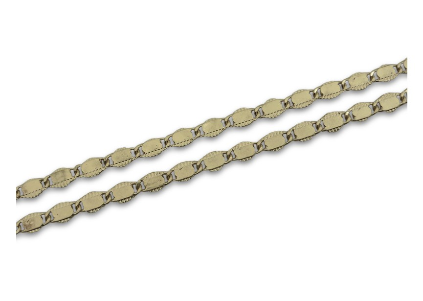 Chain 4x7.5mm vintage gold