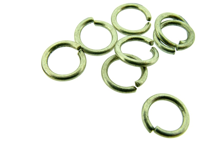 O-ring 7mm oud zilver