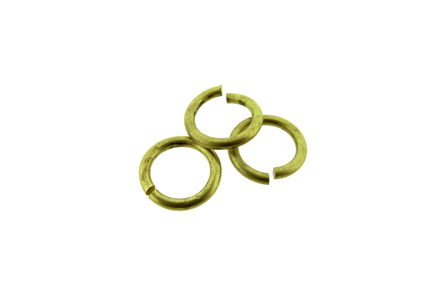 O-ring 10mm/1.5mm dikte, Oud Goud