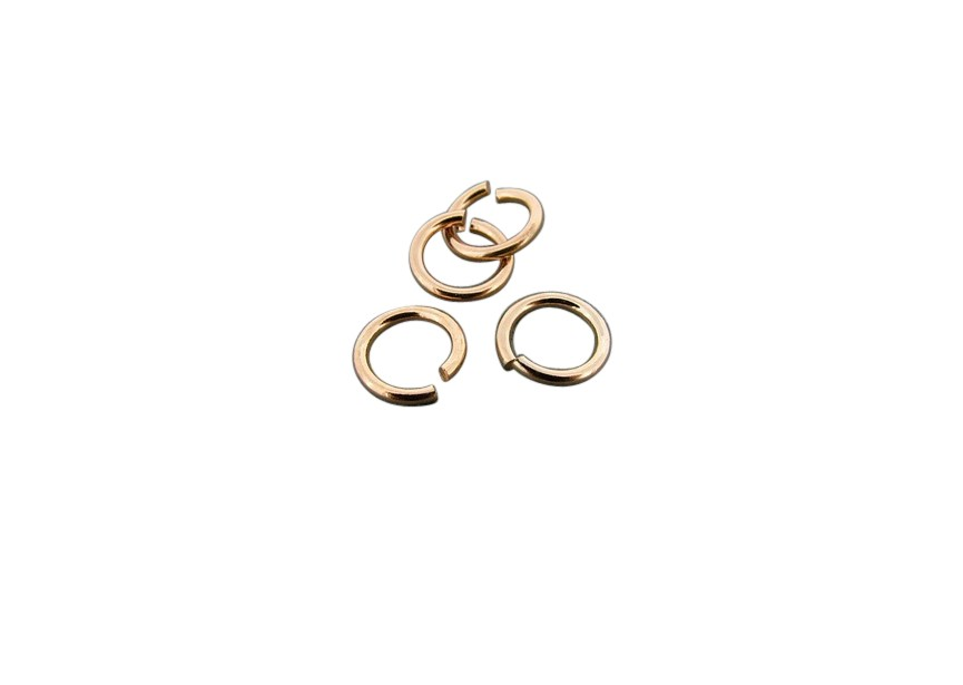 O-ring 7 mm rosé gold