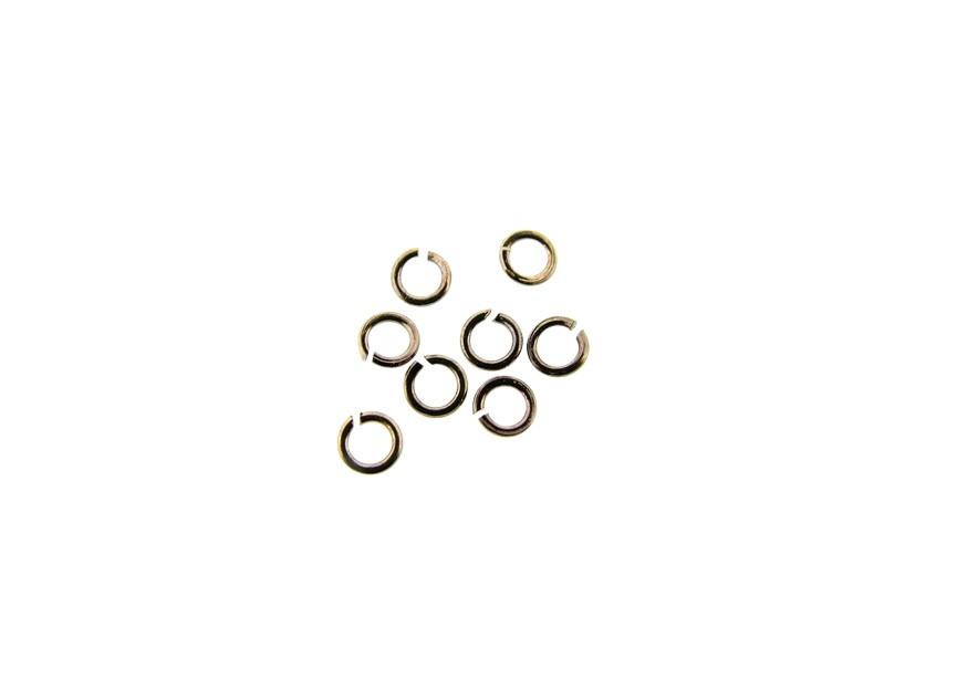O-ring 3.2x0.6mm chocolate gold