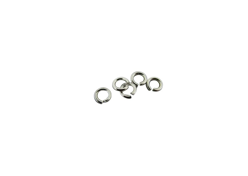 O-ring 3.2x0.6mm zilver