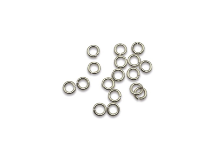 O-ring 4/0.7mm zilver