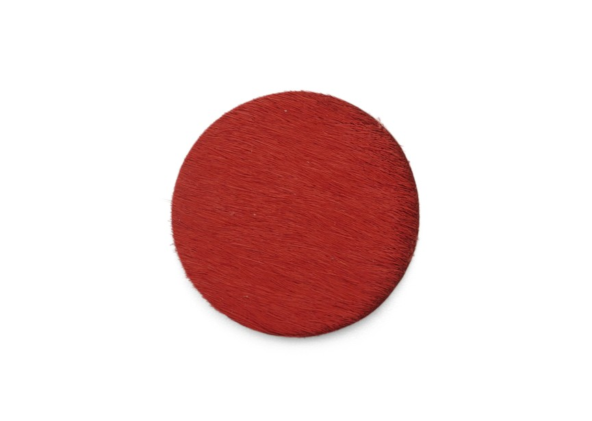Workable element leather 30mm red