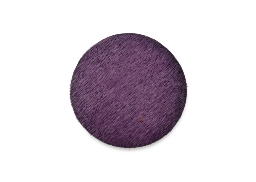 Workable element leather 30mm purple