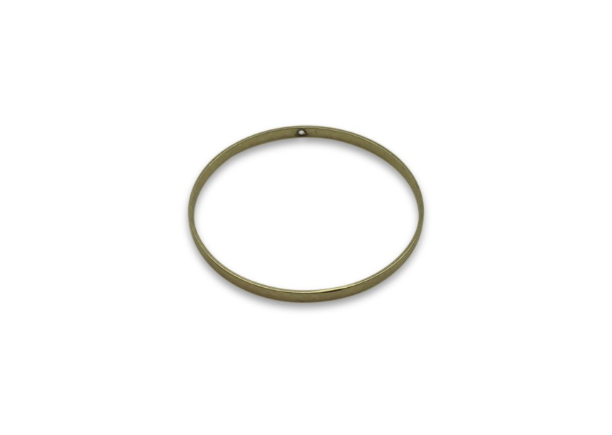 Hanger cirkel 40mm oud gold