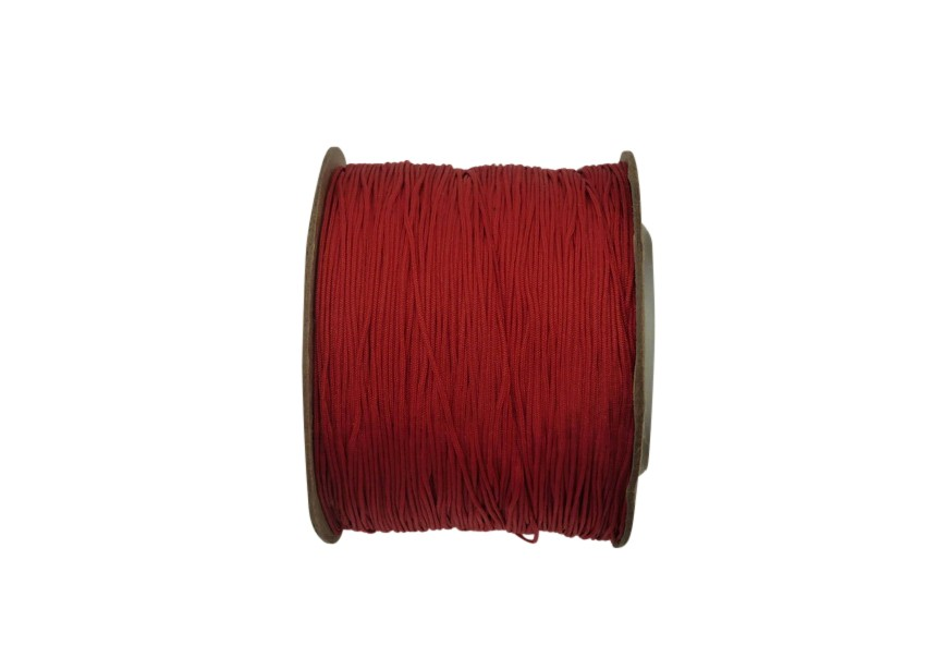 Polyester koord 0.4mm 130m rood