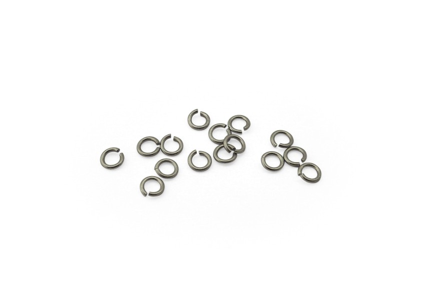 O-ring 4/0.7mm mat rhodium