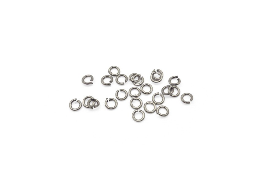 O-ring 3.2x0.6mm oud zilver