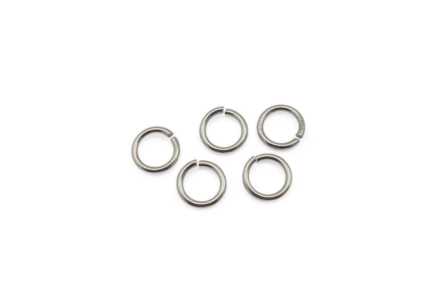 O-ring 10mm/1.5mm dikte,rhodium