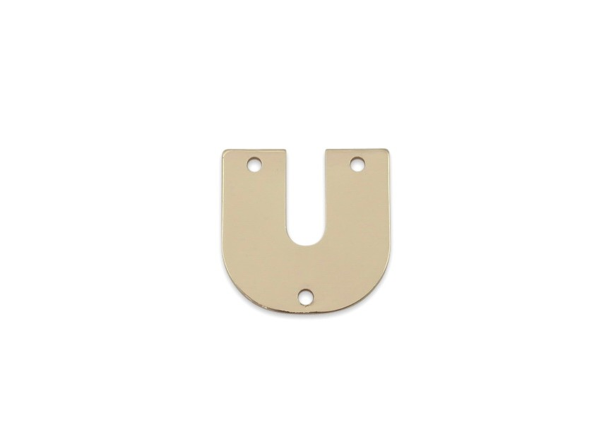 Spacer 21x22mm gold