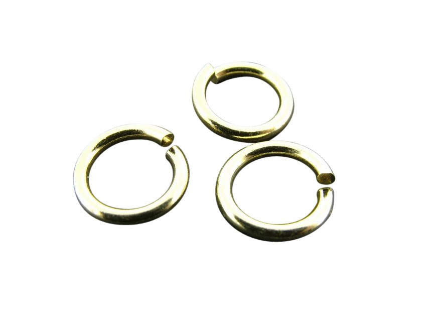 O-ring 10mm/1.5mm thick,gold